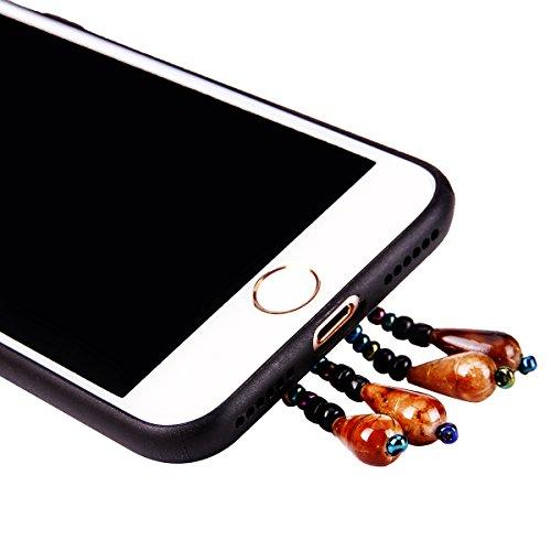 """iPhone 7 Hülle, iPhone 7 Handytasche CLTPY Premium Weich Silikon Case, Luxury Bunt Vintage Jewelry Handmade Schale Etui für 4.7"""" Apple iPhone 7 + 1 x Stift - Retro Totem 1 Retro Totem 1"""