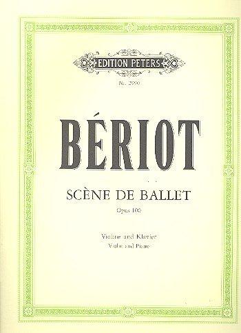 Ballett Szene Op 100. Violine, Klavier