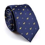 SALLYDREAM Corbata de Seda para Hombre Casual Corbata Para Fiesta Para los Negocios...