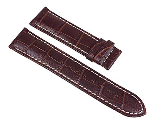 Jaguar Ersatzband Uhrenarmband Leder Nussbraun 22mm J619/2