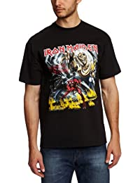 Mens Official License Iron Maiden The Number Of The Beast  5285Tsbpl  T-Shirt