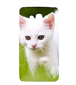 printtech Premium Latest Designer Cutie Kittle Printed Back Case Cover for Samsung Galaxy Grand Prime (2016) / Samsung SM-G532F, Samsung Galaxy J2 Prime