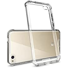 Funda ANTI-SHOCK Gel Transparente para HUAWEI P8 LITE 2016, Ultra Fina 0,33mm, Esquinas Reforzadas, Silicona TPU+PC de Alta Resistencia y Flexibilidad, Anti Golpes, Electrónica Rey®