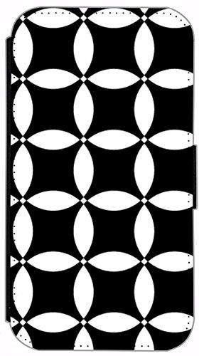 Kuna Flip Cover für Apple iPhone 5 / 5s Design K366 Klavier Noten Schwarz Hülle aus Kunst-Leder Handy Tasche Etui mit Kreditkartenfächern Schutzhülle Case Wallet Buchflip Rückseite Schwarz Vorderseite K347