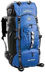 Black Canyon Unisex Rucksack Explorer, blau, one size, BC3228