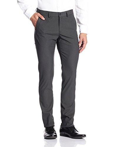 Excalibur Men's Formal Trousers (8907542687848_400016628463_36_Charcoal)