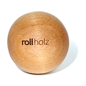rollholz Faszienkugel/Massage-Kugel Aus Erle