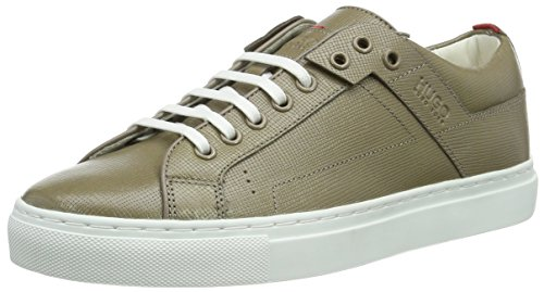 HUGO Damen Corynna-Vs 10191393 01 Sneakers Beige (Dark Beige 250)