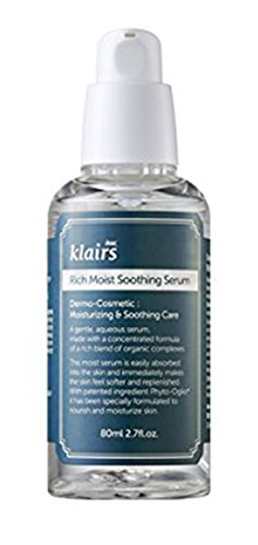 Klairs Rich Moist Soothing Serum 80ml, K-beauty, Sensitive Skin, Light finish, Soothing