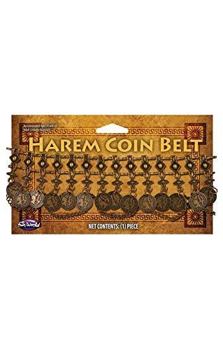 Horror-Shop Bauchtanz-Gürtel mit Münzen