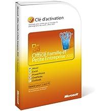 Office Famille et Petite Entreprise 2010 (Outlook inclus), 1 poste (clé d'activation seule)