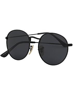 CGID Retro Vintage Sonnenbrille, inspiriert von John Lennon, polarisiert mit rundem Metallrahmen, für Frauen und...