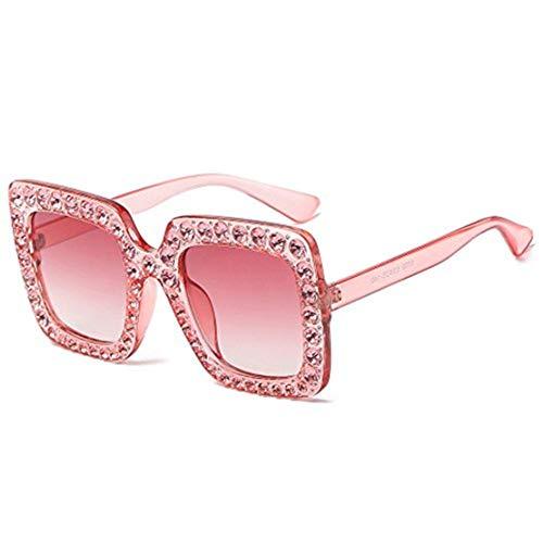 Likecrazy Frauen Brillen Art und Weise künstliche Diamant rahmen Sonnenbrille