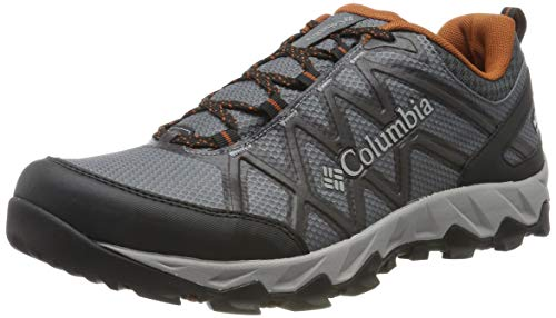 Columbia Peakfreak X2 Mid Outdry, Zapatos de Senderismo para Hombre, Gris Graphite, Dark 053, 43 EU...
