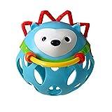 Sonajero Juguetes para niños bebé Mordedor Pelota Nette Mano de Shake Bell Ring Ball Juguete Sonajero plástico Animales Coctelera Juguete para bebé
