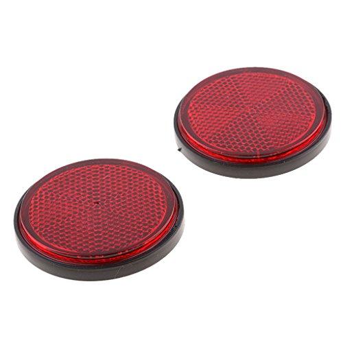Homyl 2 Pieza Reflector Redondo Accesorio Lluminación