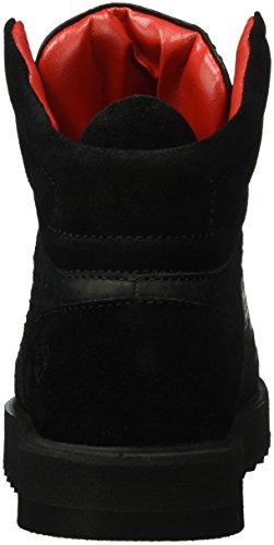 Liebeskind Berlin Ls0116 Python, Baskets Basses Femme Noir - Schwarz (ninja black 9998)