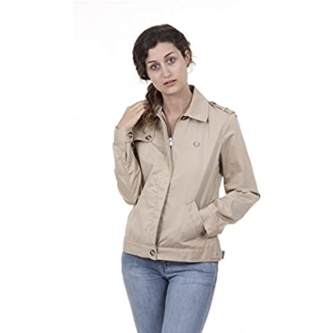 Fred Perry Fred Perry Womens Jacket 31712007 0031 BEIGE