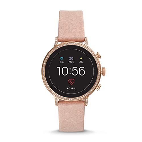 2ce883932dcf Fossil - Reloj Gen 4 Smartwatch con correa de cuero - FTW6015