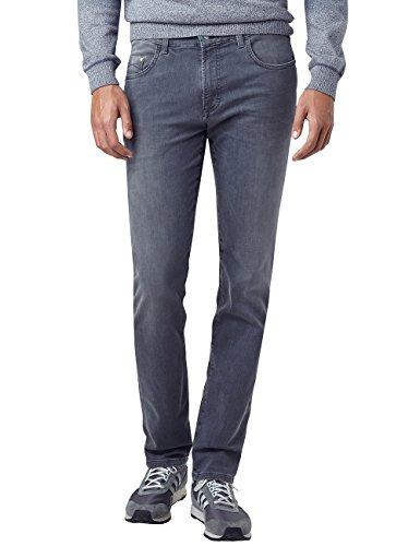 Pioneer Herren Straight Jeans Storm Grau (Grey Used With Buffies 324)
