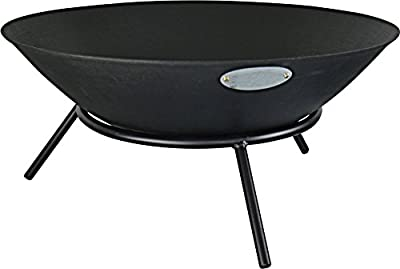 Harbour Housewares Garden Fire Pit Burner - 560mm Diameter