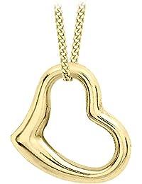 Carissima Gold Collar de mujer con oro amarillo de 9 quilates 375