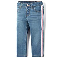 The Children's Place Baby Girls Fashion Skinny Jeans, medium azul wash, 18-24MONTH