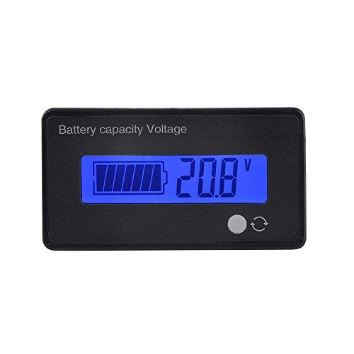 Blei-Säure Lithium-Ionen-Batterie Kapazität Meter Spannung Tester Batteriekapazität Voltmeter Statusanzeige 8V-70V Messgerät Panel LCD-Monitor Super Helle Lcd-display