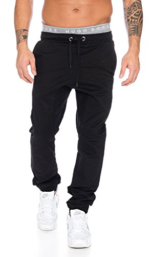 Rock creek herren chino hose RC-2093 Schwarz W36 (Hosen-rock)
