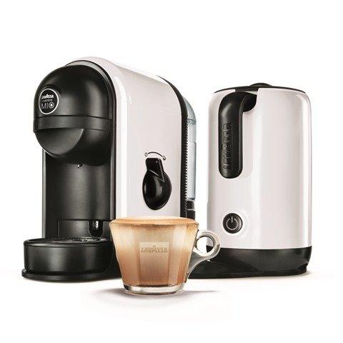 Lavazza 10080951 Coffee Machine The Real Italian Espresso Experience Works with Lavazza A Modo Mio Capsules Perfect for classic Espresso or regular coffee 1750 watts 15 Bar pump pressure - White