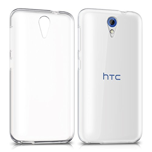 kwmobile HTC Desire 620G Hülle - Handyhülle für HTC Desire 620G - Handy Case in Transparent