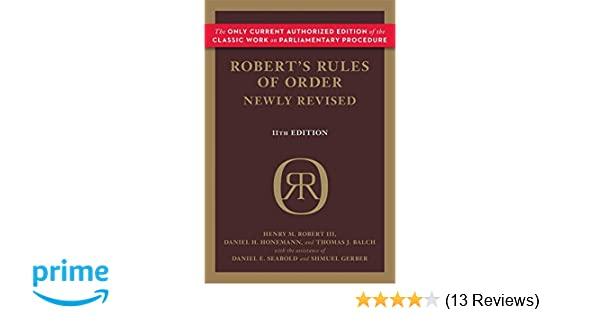 Roberts rules of order newly revised 11th edition roberts rules roberts rules of order newly revised 11th edition roberts rules of order paperback amazon daniel honemann thomas balch daniel seabold fandeluxe Image collections