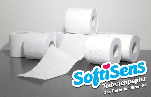 72 Rollen Toilettenpapier // WC-Papier // Klopapier, 250 Blatt, 3-lagig, Zellstoff hochweiß