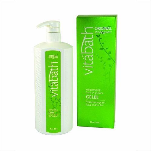Vitabath Bath & Shower Gelee, Moisturizing, Original Spring Green, 32-Ounces by Vitabath (Vitabath Gelee)