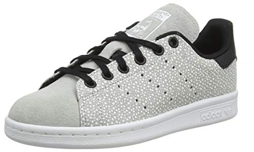 adidas Unisex-Kinder Stan Smith Gymnastikschuhe, Grau (Grey Two F17/Core Black), 38 2/3 EU