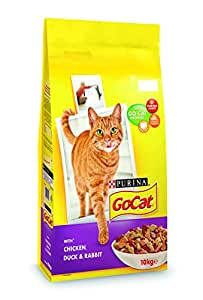 Go-Cat Adult Chicken and Duck Dry Cat Food - 10 kg
