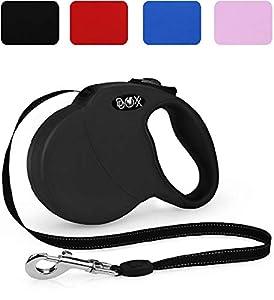 DDOXX Premium Roll-Leine reflektierend für Hunde  ...Freude für den Hund  mit der DDOXX Leine schenken Sie Ihrem Hund maximale Bewegungsfreiheit und halten dabei die Kontrolle stets bequem in der Hand. Reflektierende Einsätze im Gurt erhöhen die Si...
