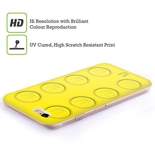 Head Case Designs Unbegrenztheitsstreifen Meine BFF Hüllen Soft Gel Hülle für Apple iPhone 6 / 6s Gelb