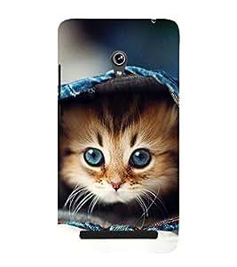 Cute Kitten 3D Hard Polycarbonate Designer Back Case Cover for Asus Zenfone 6 A600CG