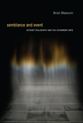 Semblance and Event: Activist Philosophy and the Occurrent Arts (Technologies of Lived Abstraction Series) por Brian Massumi