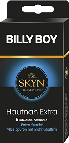 Billy Boy SKYN Hautnah Kondome, extra feucht, 8er Pack