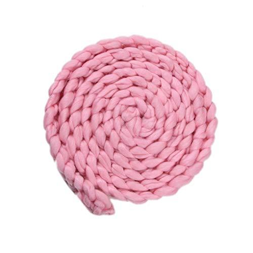 by-Fotografie Props Braid Decke Stretch Knit Newborn Fotosession Soft-Wraps Zubehör ()
