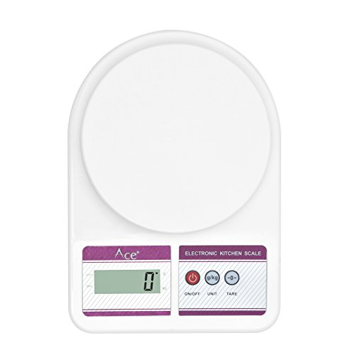 ACE Kitchen Scale Digital Weghing Scale 7Kg Weight Scale SF 400  available at amazon for Rs.399
