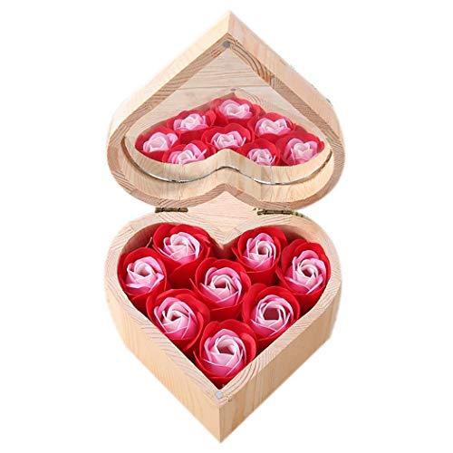 Confezione Regalo Rose di Sapone profumate