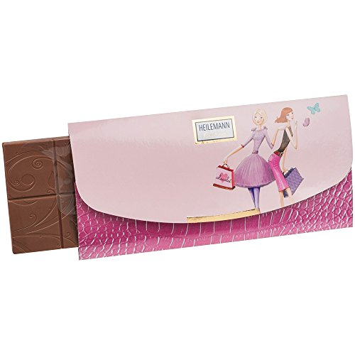Heilemann Confiserie Girls Clutch bag sac à main 80 g chocolat lait entier