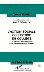 L'action sociale collective en collège: Les ressorts de l'innovation dans un établissement scolaire