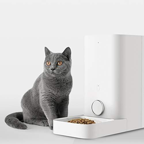 PETKIT Alimentador Inteligente para Perros y Gatos - Doble Fresco - Nunca Tarjeta - Gran Capacidad - Fácil de Limpiar (Mini)