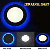 Riflection Energy Saver Lowprice Durable 10W LED round Panel Light Ceiling POP Down Indoor Light LED 3D Effect Lighting (Double Color)