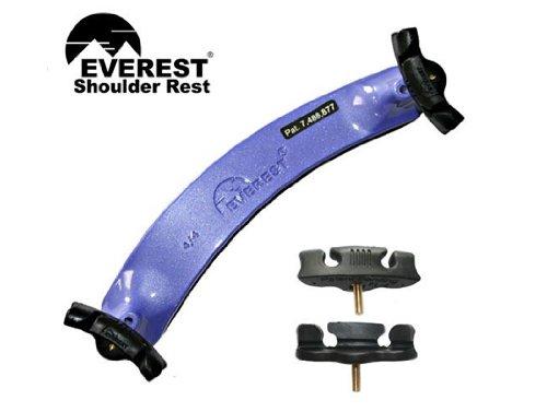 """Everest morado hombro resto-Violín 3/4-4/4ajustable Viola-12""""-13"""" ajustable"""