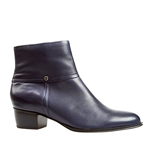 Van Dal Shoes Womens Juliette Boots in Navy